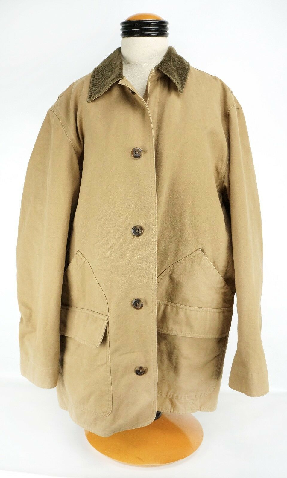 Mens GAP Heavy Canvas Tan Barn Chore Coat Large