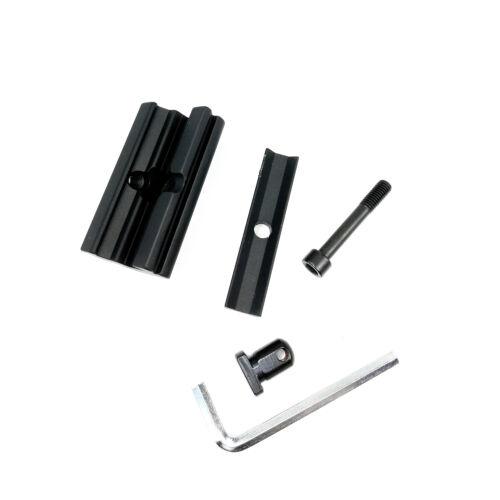 Universal Standard Picitinny Weaver Rail Mount Adaptor For Bipod