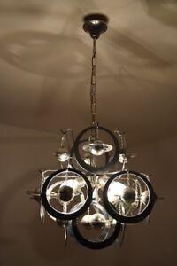 Lampe Lustre Plafonnier Vintage Annees 70 Design Ebay
