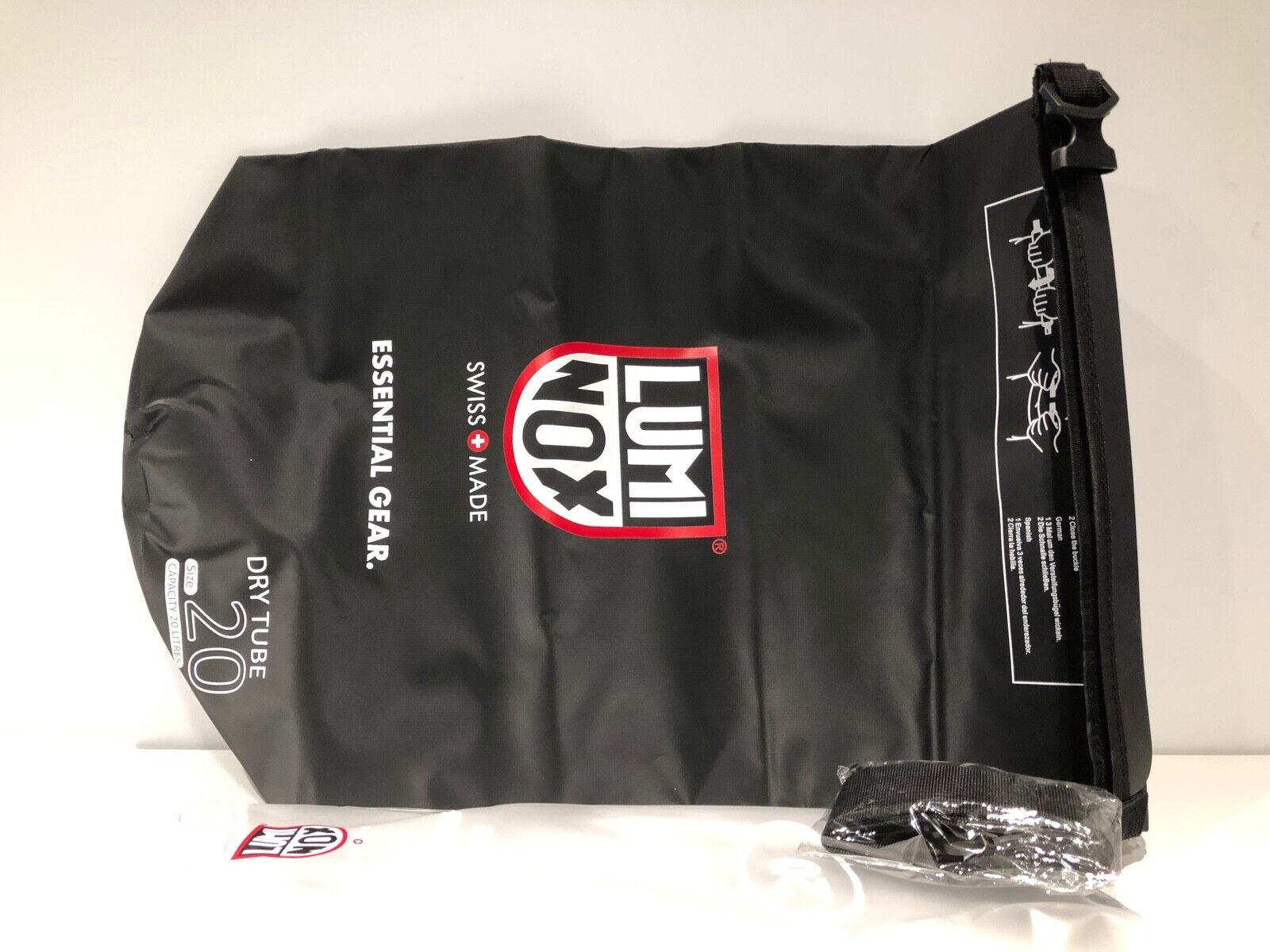 New - LUMINOX - Dry Tube 20 Litres - Waterproof Dry Bag - Bolsa impermeable