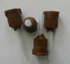 Usa 25 Tips Dental Brown Temporary Cement Mixing Tips 11 Ratio