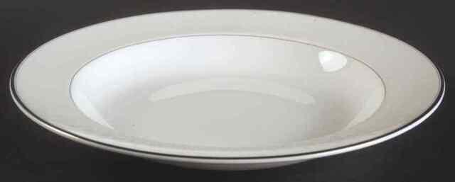 Waterford China LISMORE PLATINUM Rim Soup Bowl 1784283