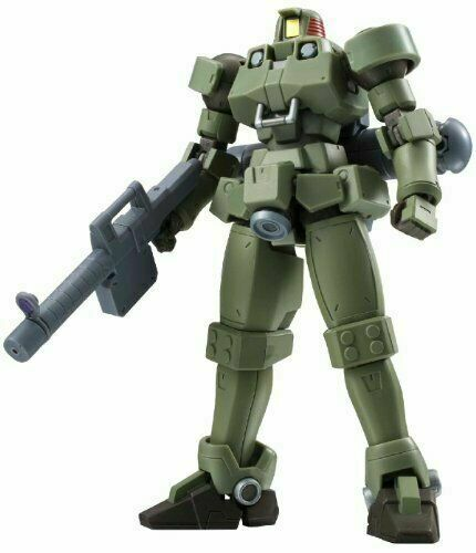 ROBOT soul Gundam W  Rio Moss Grün for space about 125mm ABS & PV