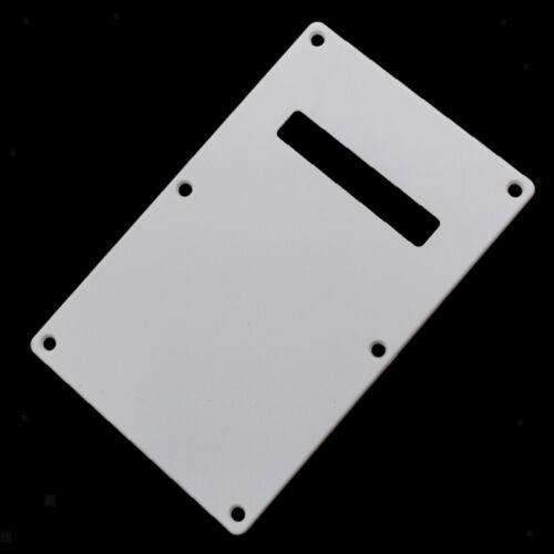 Instrument Accs Gitarre Rückenplatte Cavity Tremolo Cover für Squier SQ