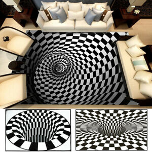 3D-Bottomless-Hole-Shaggy-Carpet-Anti-Skid-Rug-Living-Room-Floor-Area-Rug-Mats