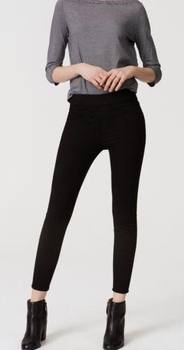 26//2P NWT 25//0P Ann Taylor LOFT Easy Denim Leggings Pants in Black Size 24//00P