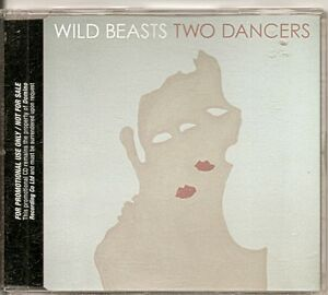 WILD-BEASTS-Two-Dancers-PROMO-CD-ALBUM-in-slim-jewel-case-FREE-WW-SHIPPING