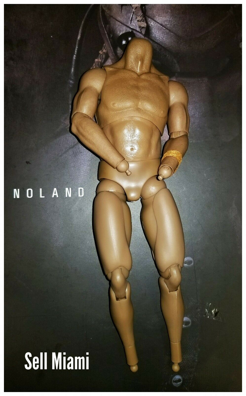 1 6 Hot Toys Predators Noland Body With Over 30 Points Of Articulation MMS163