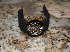 Swiss Legend Watch 20067 Men's Commander Chronograph Gold Black Dial