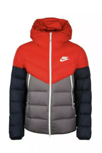 Nike Sportswear Down Filled Hooded Windrunner Jacket ...