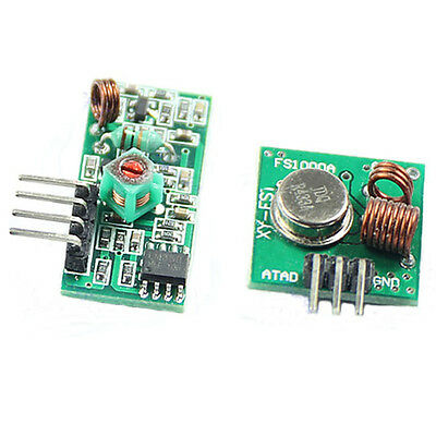 1Pcs 433Mhz RF Wireless transmitter and receiver link kit for Arduino/ARM/MCU CA