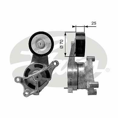 GATES T39084 Tensioner Pulley v-ribbed belt