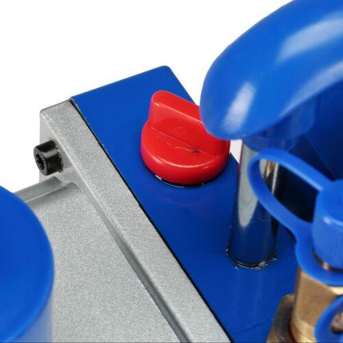2 livelli pompa sottovuoto 284 L//min 10cfm Sotto Pressione Pompa Aria Condizionata vacuumpumpe