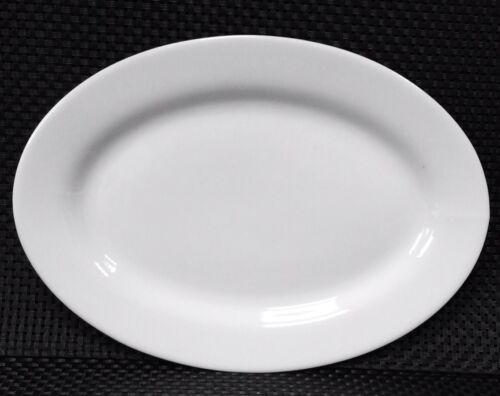 12 Servierplatte Servierteller Buffetplatte platte oval 31cm Porzellan