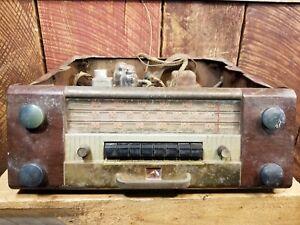 Details about 1947 1948 RCA Victor Crestwood Console Phonograph Short Wave  AM FM Radio Parts