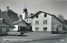 AK aus St.Aegyd am Neuwald mit alten Auto, Oldtimer, Opel, (B2)