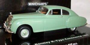 Minichamps-Escala-1-43-436-139424-Bentley-Continental-R-type-1955-Verde