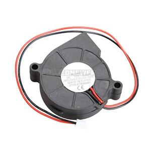 UN3F-Black-Brushless-DC-Cooling-Blower-Fan-2-Wires-5015S-12V-0-06A-50x15mm