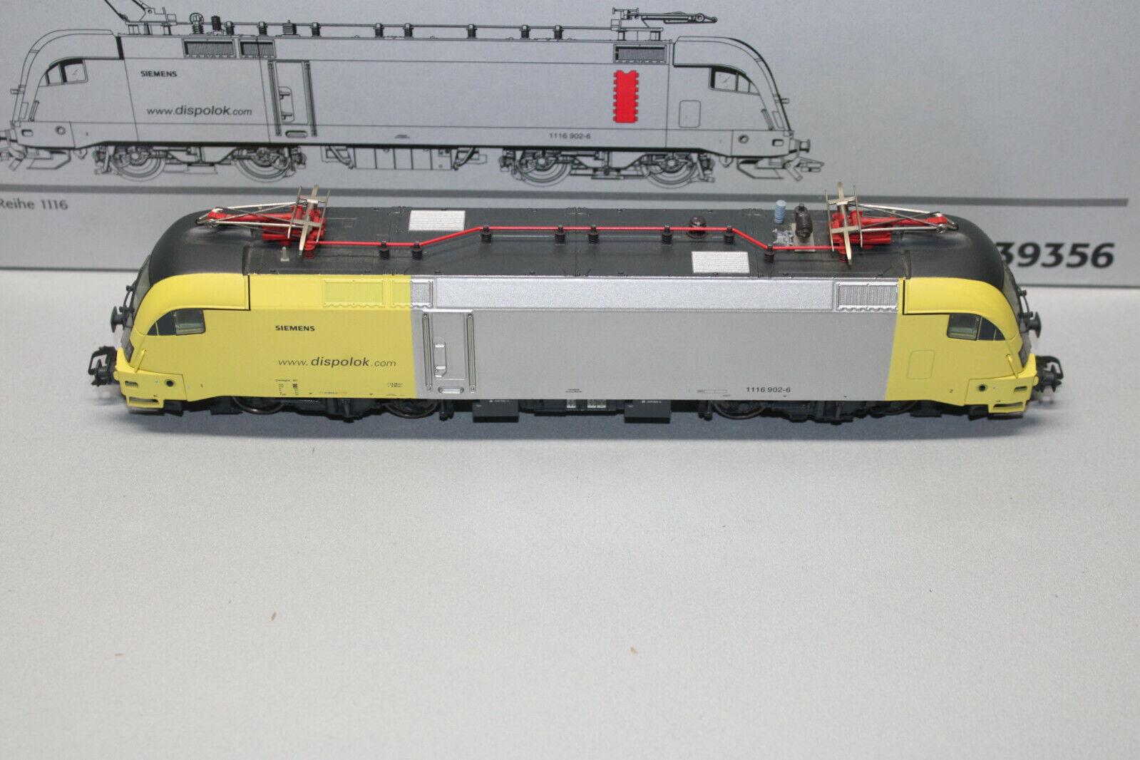 marklin 39356 Digitale Romualdo Serie 1116 suono Scala H0 Conf. Orig.