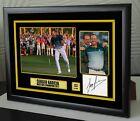 Sergio Garcia Masters 2017 Golf Framed Canvas Tribute Signed