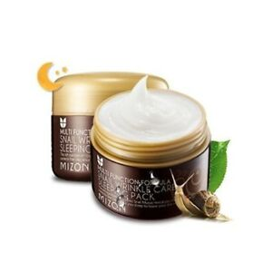 Mizon-Snail-Wrinkle-Care-Sleeping-Pack-80ml-Free-Gift-Korean-Cosmetics