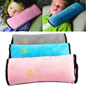Image Is Loading Kids Car Safety Strap Cover Harness Pillow Shoulder