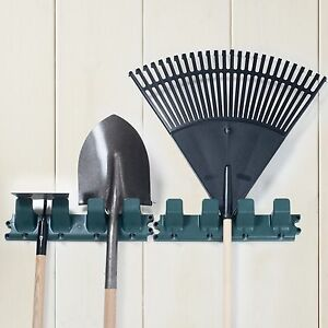 Sturdy 16 5 Inch Wall Rack For Garage Tools Rakes And