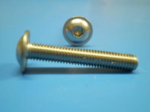Muttern ISO 7381 M4 x20 Scheiben 10  V2A Schrauben
