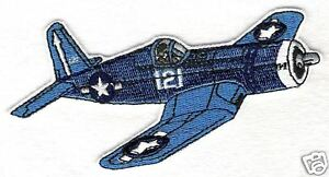 F4U CORSAIR Airplane Aircraft Aviation Collectable Military Embroidered Patch