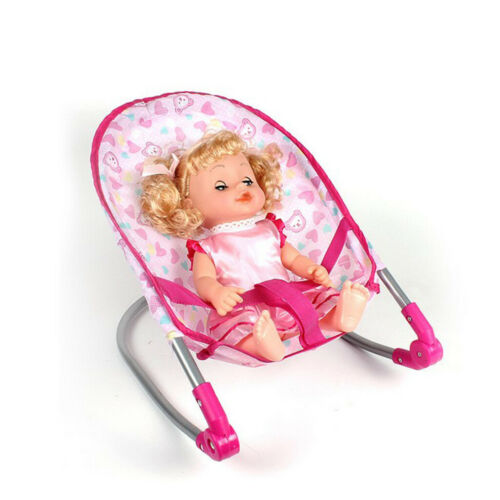 Doll Swing Bouncer Rocking Chair Play House Toy Simulation Furniture
