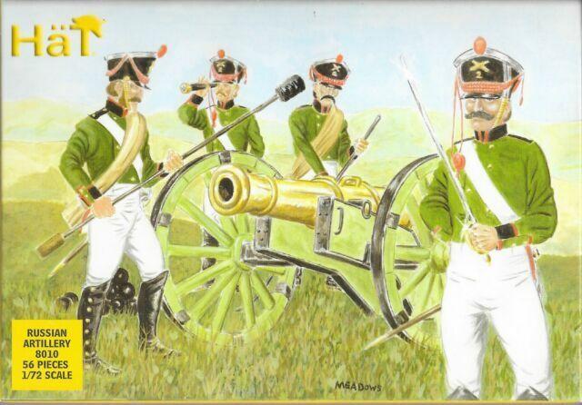 HaT 8010 Napoleonic Russian Artillery 1:72