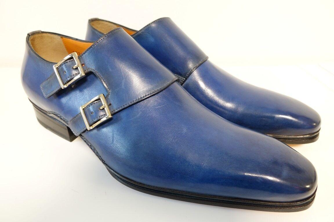 SANTONI shoes Men's shoes Business shoes-Size 8,5 (42,5) - NEW Orig. - sonderedit