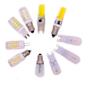 LED-Light-E12-E14-G9-G4-3w-5w-7W-Slim-Corn-Bulb-COB-Spotlight-SMD-Lamp-220V-12V