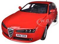 Alfa Romeo 159 Sw Red 1/18 Diecast Car Model By Motormax 79166