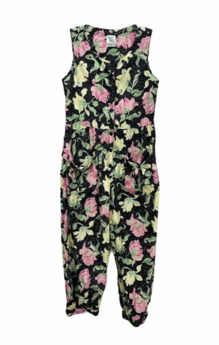 Vintage Laura Ashley Romper Jumpsuit Great Britain