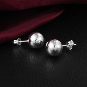 """Boucles d'oreilles Argent """"Perles d'Argent"""" - 10 mm - Envoi de France immédiat tXdbhnG1-09164414-386691782"""