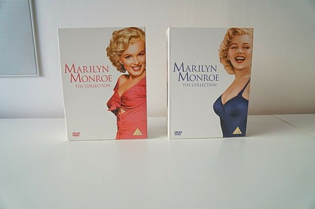 MARILYN MONROE Blue & Red DVD COLLECTION