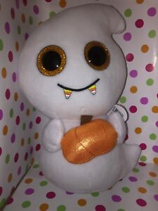 """New Ty Beanie Boos Halloween SCREAM the Ghost 6/"""" Ships from USA"""