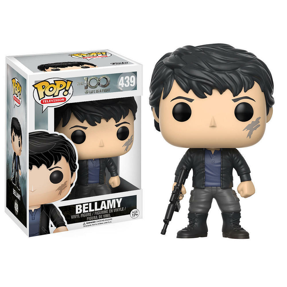 FUNKO POP BELLAMY 439 THE 100 FIGURE 9 CM LEXA KOM TRIKRU FERNSEHEN SERIE TV  1  | Preisreduktion