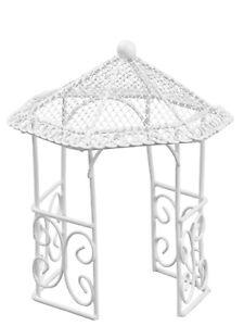 1 Deko Pavillon Pavillion Mini Garten Hochzeit Brautpaar Figur Mobel