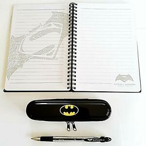 Batman metal bound Notebook- pen and case Limited edition set eE52ek3R-09102026-585054202
