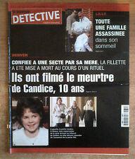 nouveau DETECTIVE n°972 du 2 mai 2001 lille denver candice