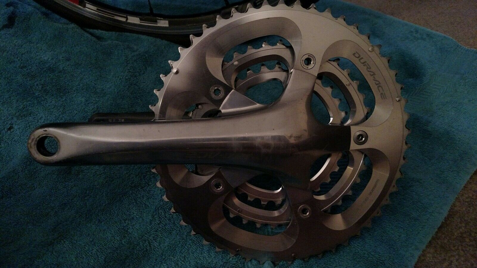 REDUCED   Shimano Dura Ace FC-7800 TRIPLE Road 172.5mm Crankset 52 39 30t  10 sp  check out the cheapest