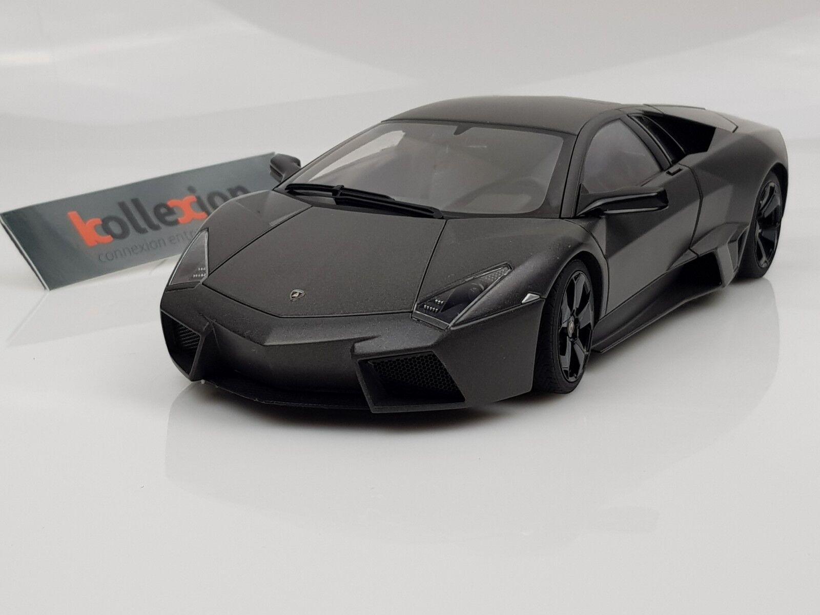 Autoart 74591 Lamborghini Reventon Grigio Carbonio 1.18 Nb .