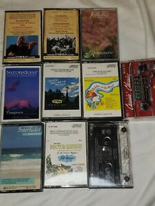 Lot Of 10 Cassettes Classical New Age Doctor Zhivago Fiddler on the Roof Benoit