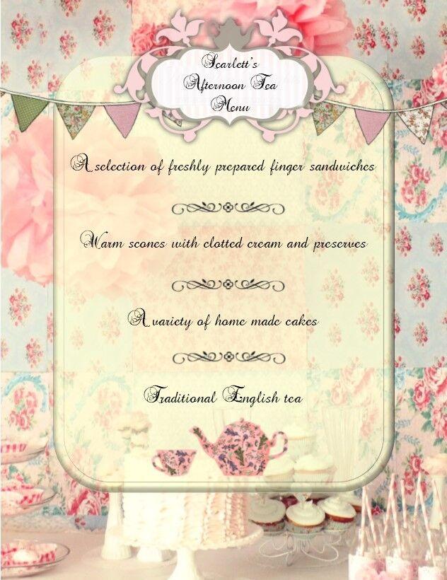 VINTAGE personalizzato personalizzato personalizzato Tea Party Inviti (VARI Disegni) c67efd