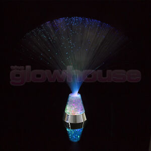 Details About Fibre Optic Ice Crystal Lamp Colour Changing Sensory Light