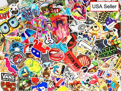 50 x Sticker Bomb Flowers Vinyl Decal Skate Laptop Party Loot Bag