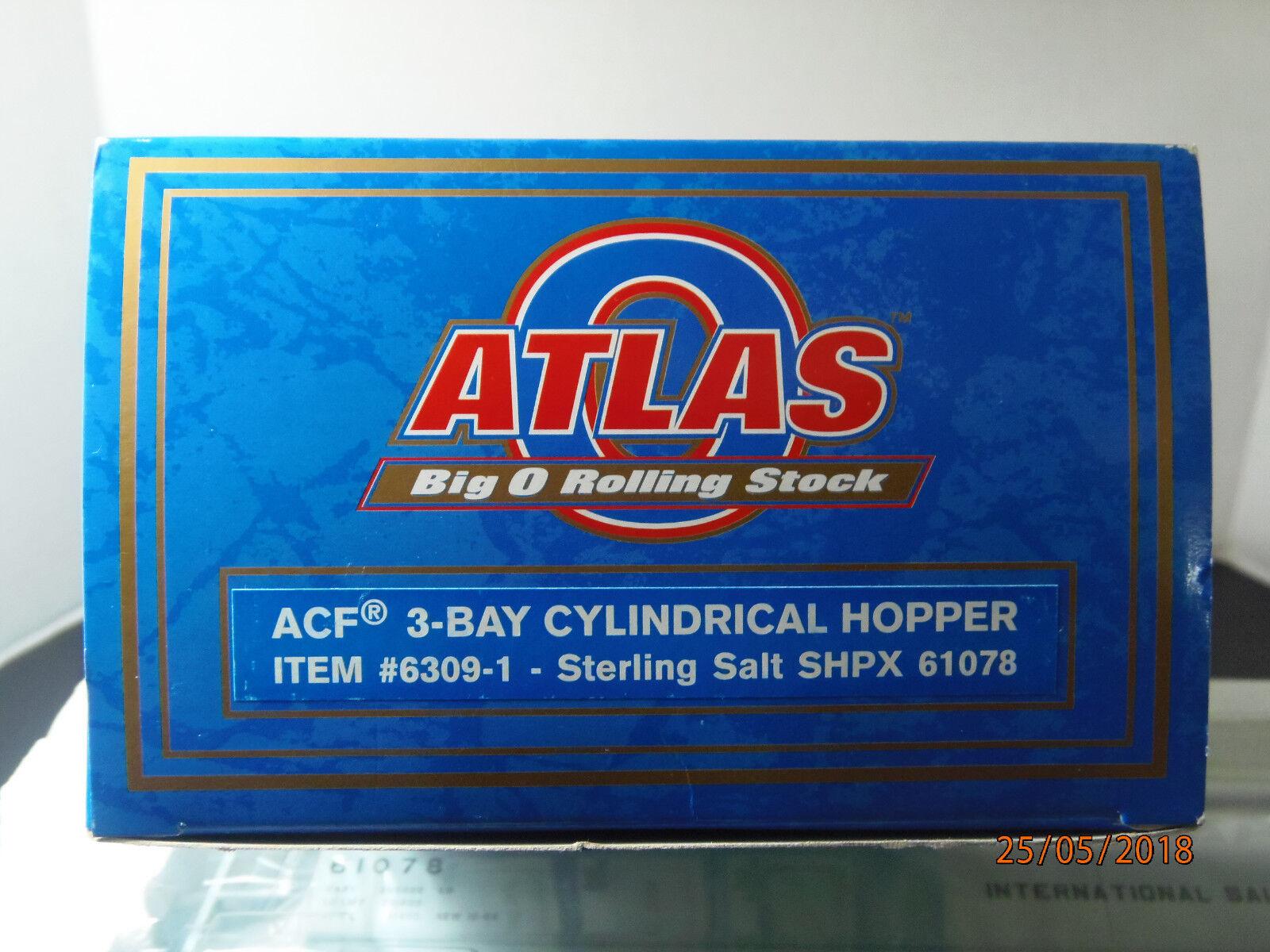 Atlas Big O ACF 3 3 3 Bay Cylindrical Hopper Sterling Salt SHPX61078(3-rai) 7721f9