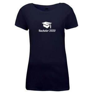 Damen-T-Shirt-Bachelor-2020-Doktorhut-Abschluss-Studium